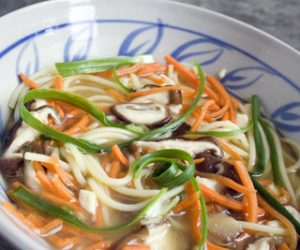 Trader Joes Miso Noodle Soup recipe