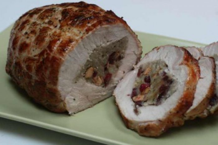 how to cook pre stuffed turkey breast