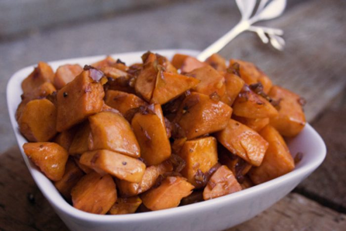 Sweet Potato Recipe Cooking with Trader Joes
