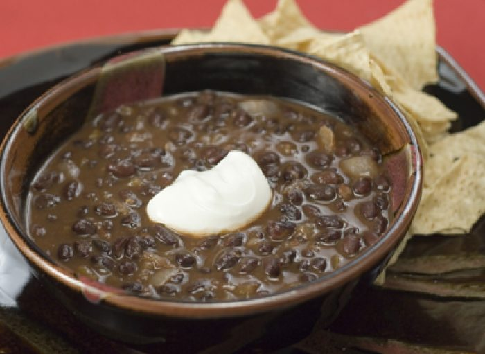 Black Bean Soup recipe Cooking Trader Joes