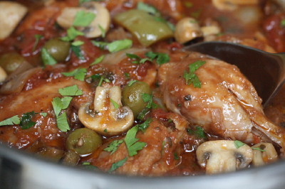 Chicken Cacciatore RecipeCooking with Trader Joes
