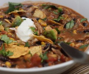 Trader Joes Chicken Taco Soup recipe