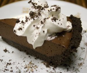 Chocolate Mousse Pie recipe Cooking Trader Joes