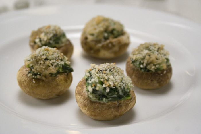 Stuffed Mushrooms recipe Cooking Trader Joes