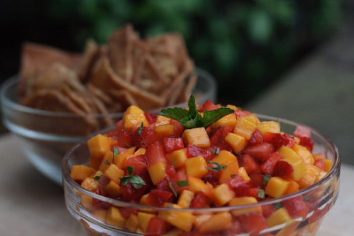 Strawberry Mango Salsa recipe Cooking Trader Joes