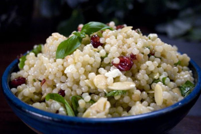 Beckys Israeli Couscous Salad Recipe Cooking With Trader Joes