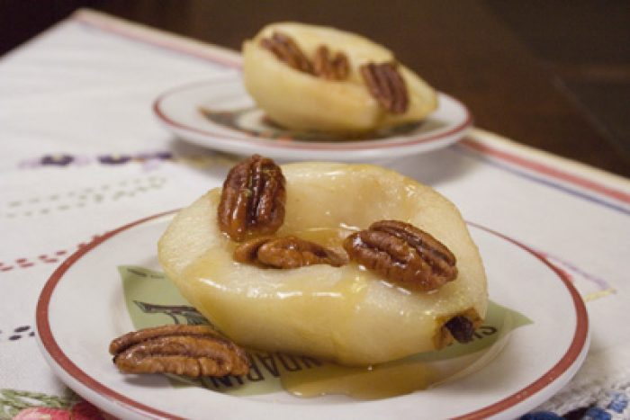 Baked Pears with pecans recipe Cooking with Trader Joes
