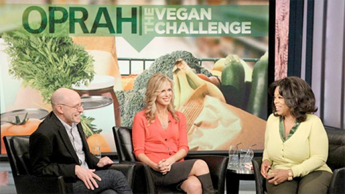 Vegan Challenge on Oprah