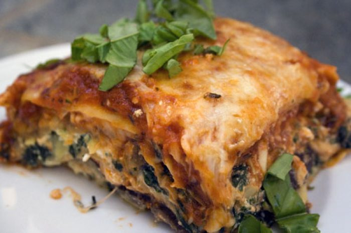 Vegetarian Lasagna recipe Cooking Trader Joes