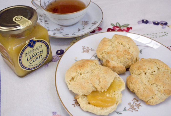 British Cream Scones recipe Cooking Trader Joes