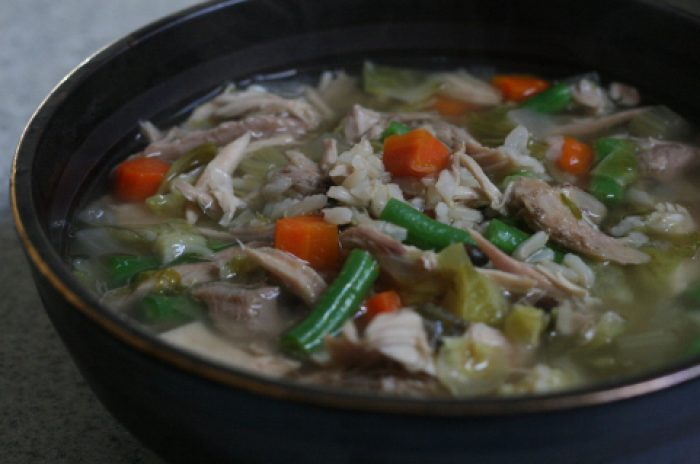 After Thanksgiving Turkey Soup recipe Cooking Trader Joes