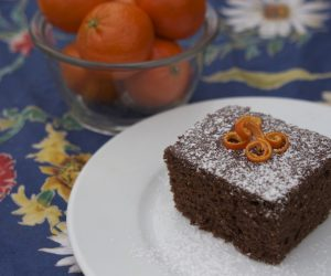 Orange Chocolate Cake recipe Cooking Trader Joes Skinny Dish