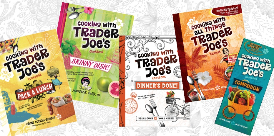 Cooking with Trader Joes Cookbooks