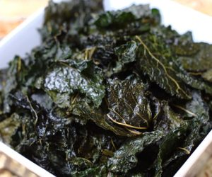 Kale Chips recipe Cooking Trader Joes