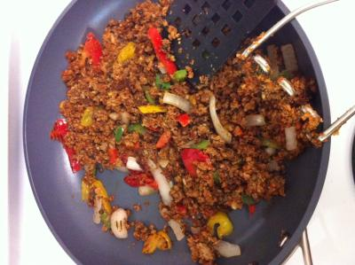 Vegetarian Taco Recipe Cooking with Trader Joes