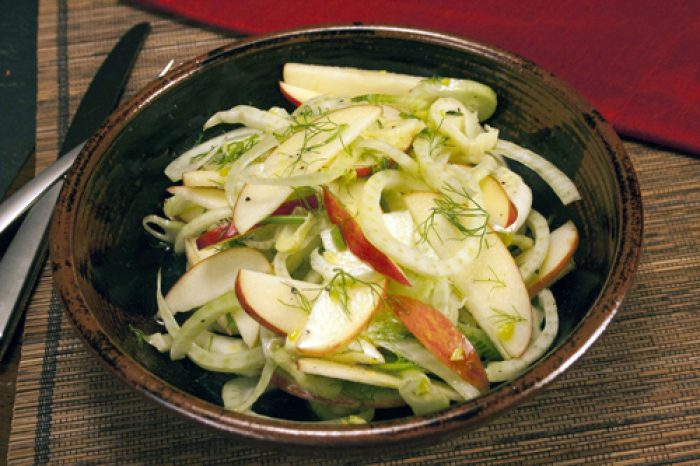 Raw Fennel Apple Salad Trader Joes