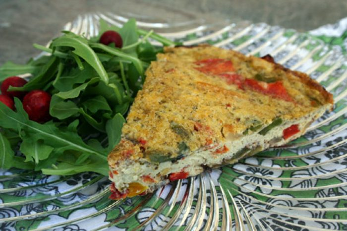 Fire Roasted Bell Pepper Frittata Recipe Trader Joes