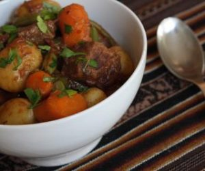Beef Stew Cooking with Trader Joe's Recipes