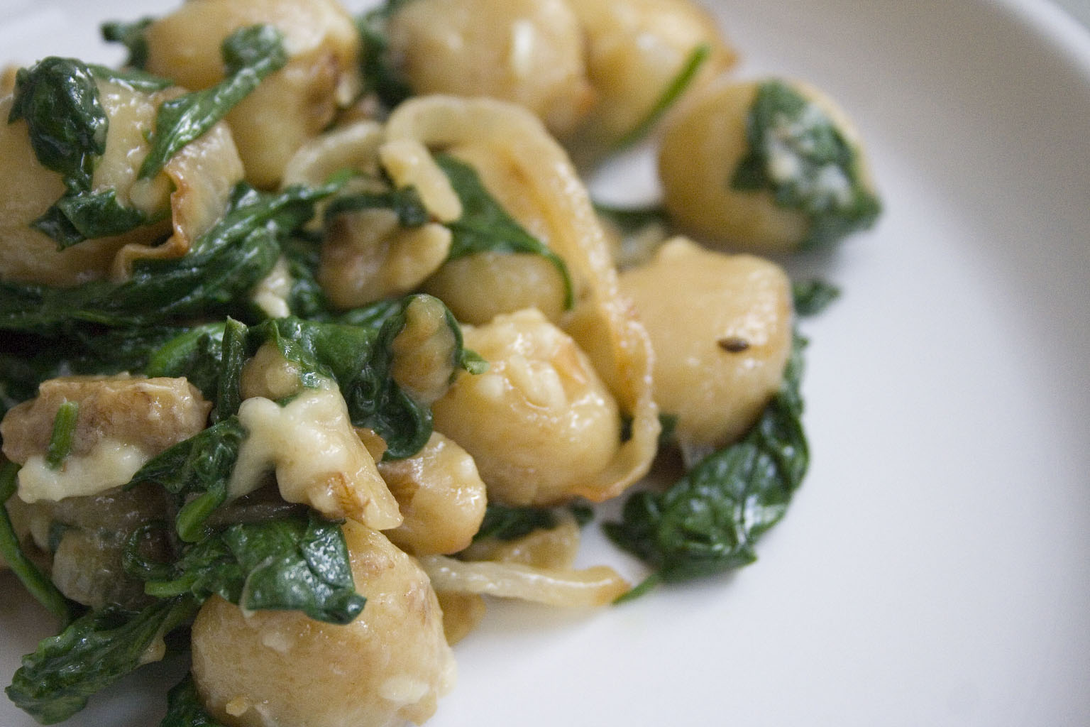 Nutmeg Gnocchi Cooking with Trader Joe's