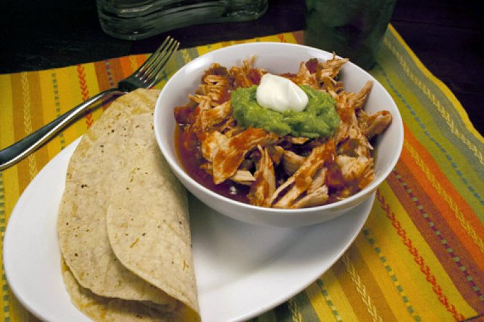 Crock-pot Salsa Chicken Recipe Cooking with Trader Joes