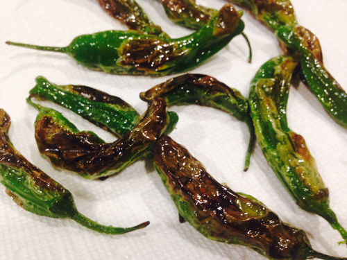 Shishito Peppers from Trader Joe's