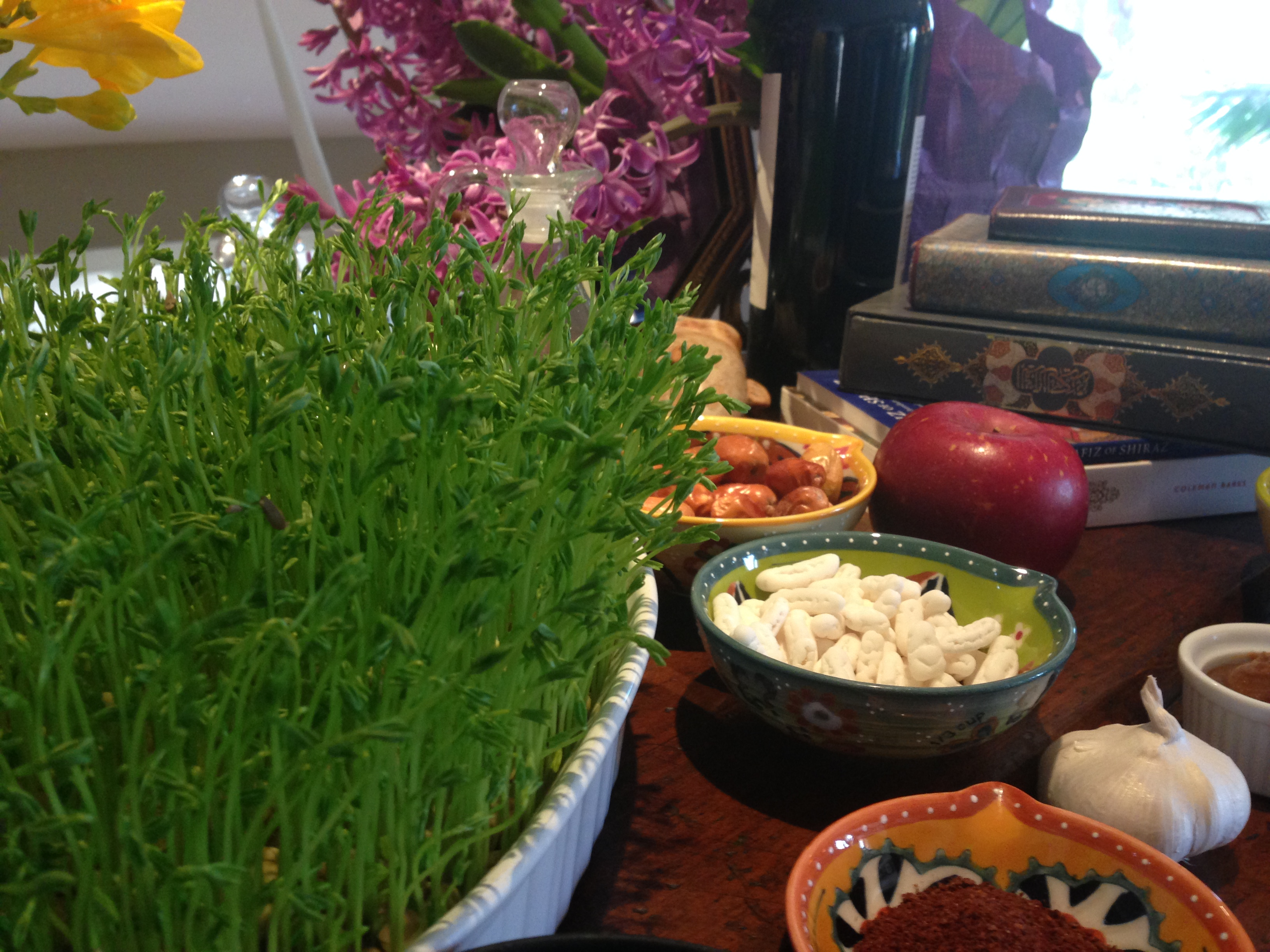 Persian Holiday Traditions Cooking with Trader Joe's