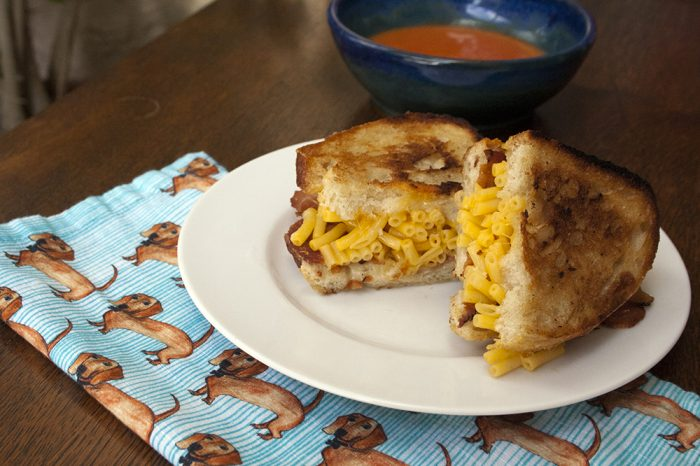 Trader Joes recipe Grilled Mac Cheese recipe