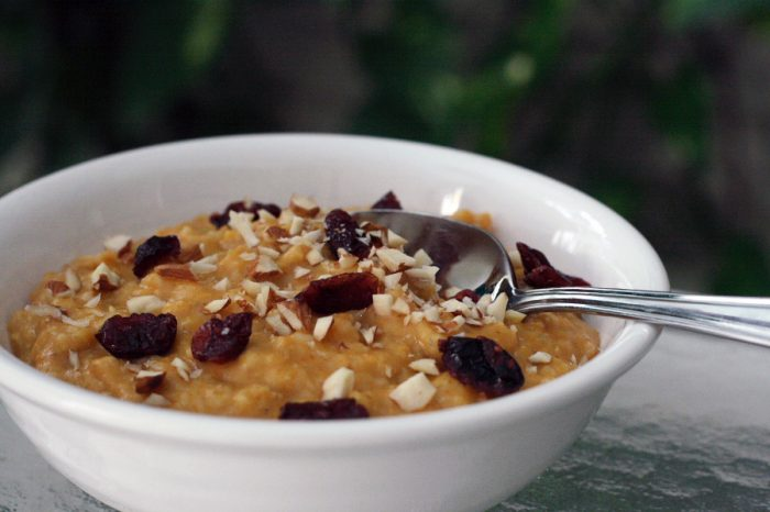 Pumpkin Oatmeal Recipe