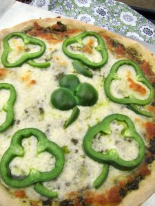 Trader Joes shamrock pesto pizza recipe 2