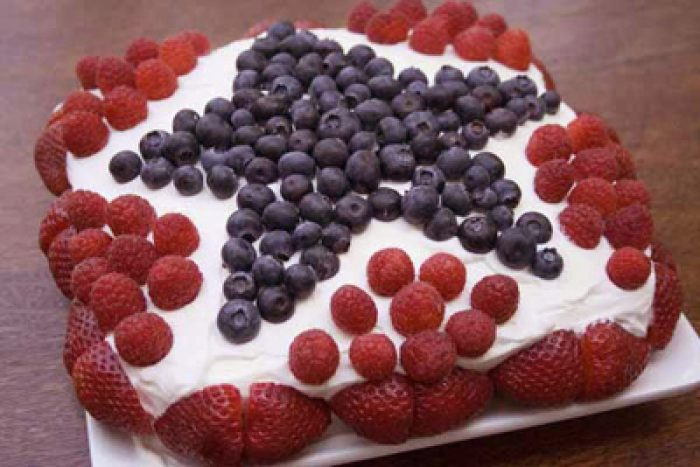 Fourth July Cake Spangled 1